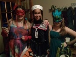 Getting ready to go trick-or-treating!